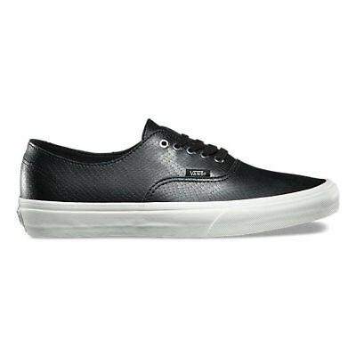 29b65cfba9 Vans Authentic Decon Snake Black Men s 8 Women s 9.5 Skate Shoes New White