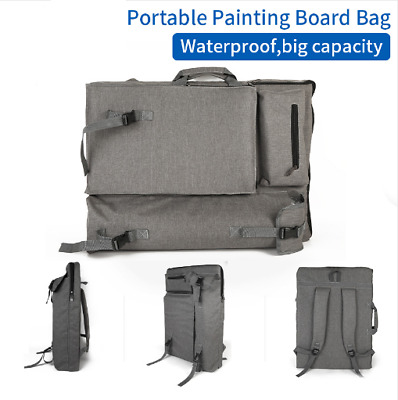Artist Carry Bag Backpack Portable Storage Painting Equipment Travel Art Case