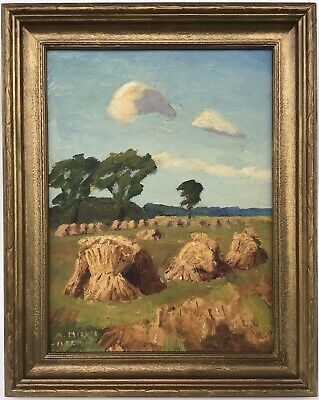 Alfred Ernest Mickle ARCA 1869-1966 listed Canadian oil painting Alton Ontario