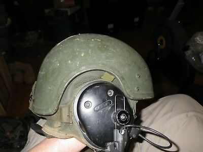 US Military Combat Vehicle Crewman (CVC) Helmet DH-132A Sz Lar with Bose headset