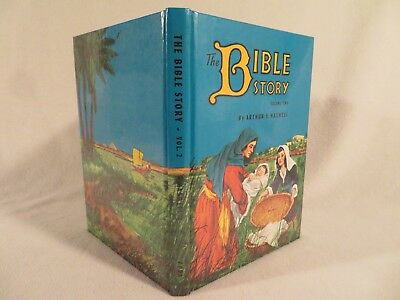 Vintage HC The Bible Story by Arthur S. Maxwell PPPA ~ 1982 Volume 2