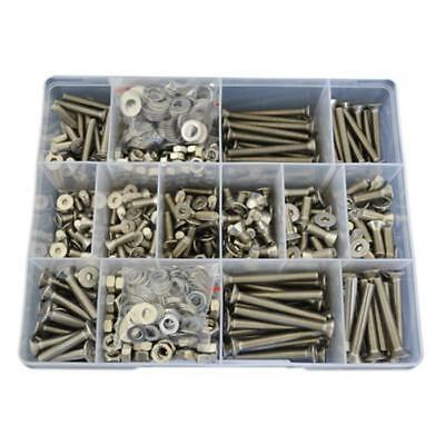 G304 Stainless M5 M6 Countersunk Socket Screw Assortment Kit Nut Washer #14