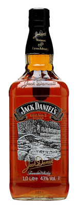 Jack Daniels Scenes From Lynchburg N0.11-Rare LITRE Size!Complete With Neck tag!