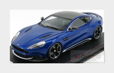 Aston Martin Vanquish S Coupe 2014 Blue Met Carbon FRONTI-ART 1:18 AS018-10 Mode