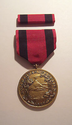 1912 U.S. Marine Corps 1st Nicaraguan Campaign Medal with RIBBON