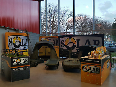 Solar SP Luggage, Carp Care, Chairs & Beds NEW Carp Fishing