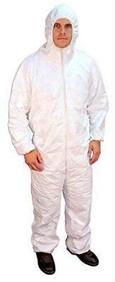 Buffalo 68510 - Polypro Coverall, Size L, Hooded - 1 Pack Bag