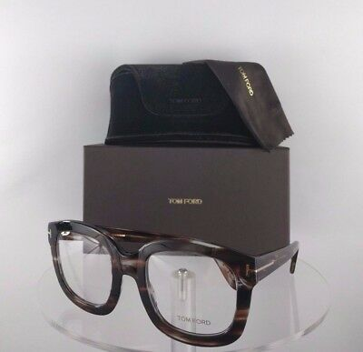 Brand New Authentic Tom Ford Oversized Eyeglasses TF 5315 049 Brown Tortoise