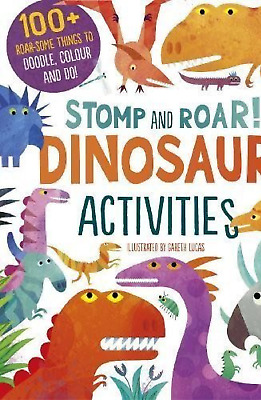 Dinosaur Activity Book - Colour, Doodle, Puzzle And Do!