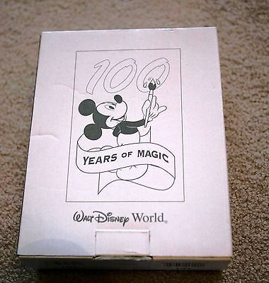 DISNEY MICKEY Mouse Metal Frame With Pin 100 Years Of Magic - $49.95 ...