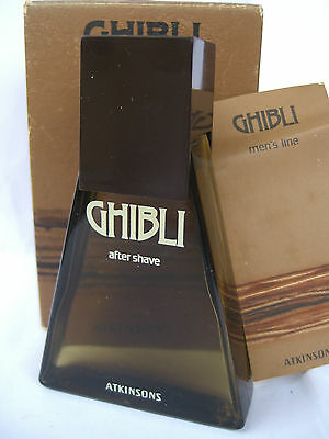 GHIBLI ATKINSONS after shave 50 ML Originale raro