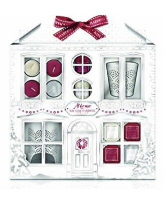 At Home with Baylis and Harding Candle Gift Set. New. Mandarin & Midnight Fig