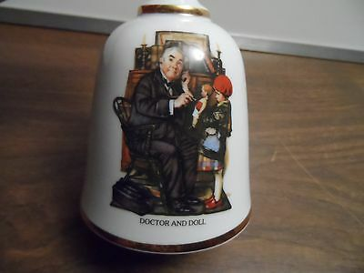 """Normal Rockwell Bell Series """"doctor & Doll"""""""