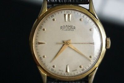 ROAMER 17 Jewels Swiss Made Armbanduhr Uhr