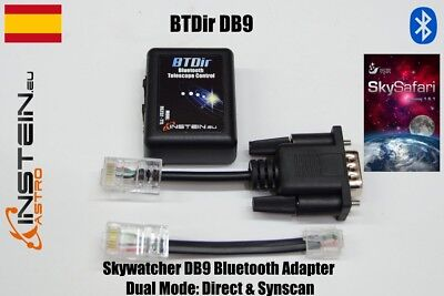 Skywatcher Bluetooth Adapter EQ6 NEQ6 Dual Mode: Direct & SynScan - BTDir DB9