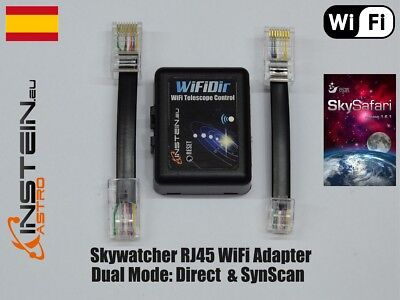 Skywatcher WiFi Adapter RJ45 Dual Mode: Direct & SynScan - WiFiDir RJ45