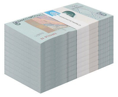 Angola 5 Kwanzas X 1,000 Pieces - 1000 PCS, 2012, P-NEW, UNC,O. Pensador,Brick
