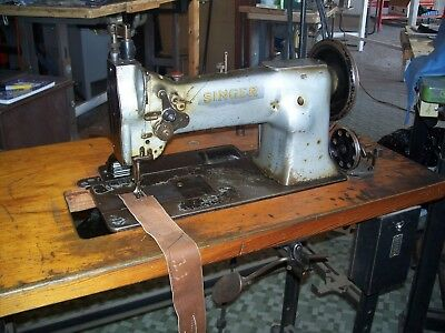 Singer 111w155 used walking foot industrial sewing machine with puller