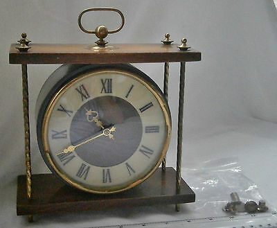 RARE vintage Vega Mantle Clock by Vega, made in USSR, 11 jewels, clockwork