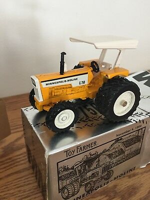 Minneapolis-Moline G750 Tractor Toy Farmer Edition 1/43 scale by Ertl