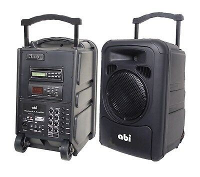PA-9610 Portable PA System + Carry Bag