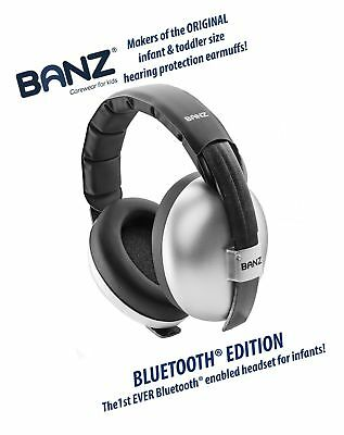 Baby Banz Bluetooth Earmuffs Hearing Protection  Ages 0-2 Years  THE BEST EAR...