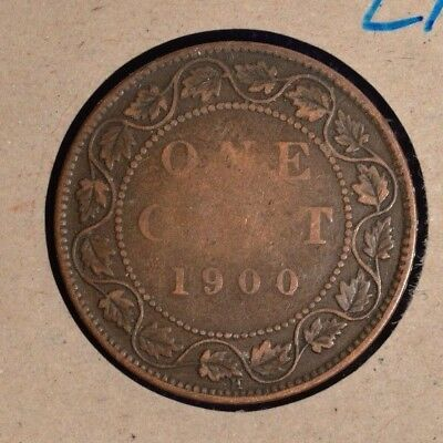 1900  - Canada Large Cent INV #L-16