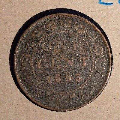 1893  - Canada Large Cent INV #L-27