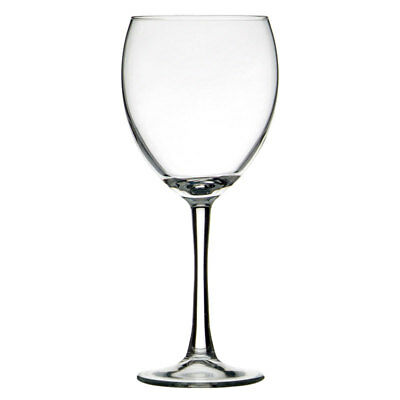 24x Crown Commercial Atlas Wine Glass 310ml Stemware Chardonnay Sparkling