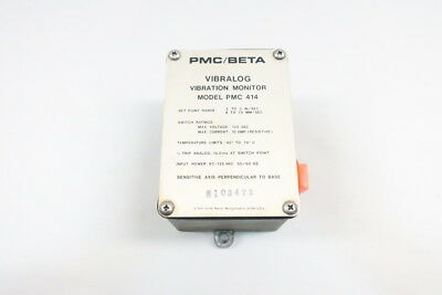 Pmc/beta PMC 414 Vibralong Vibration Monitor 135v-ac 10a Amp