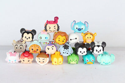 """Authentic Disney Tsum Tsum Stack Vinyl Style very Lager 2"""" Figure loose"""