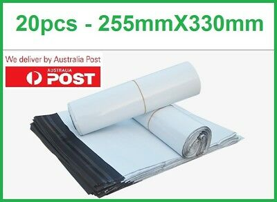20pcs Poly Mailer Courier 255X330mm Self-Sealing Plastic Shipping Satchel Bag