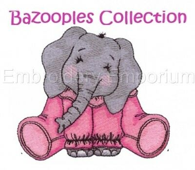 Bazooples Collection - Machine Embroidery Designs On Cd