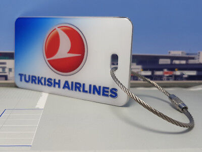 Turkish Airlines Tag / Anhänger sehr edel