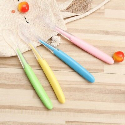 Baby Food Feeding Spoon Safe Soft Silicone Toddler Training Eating Spoon