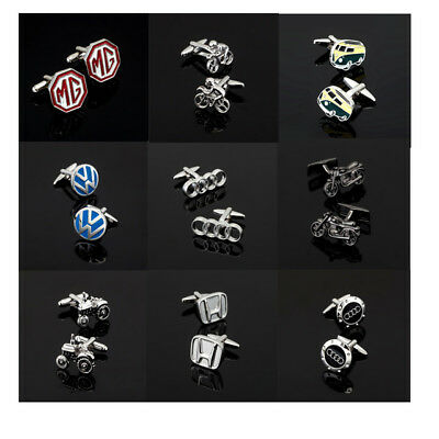 Car Logo Cufflinks With Chrome Box Collectable Souvenirs Gift,Various Designs UK