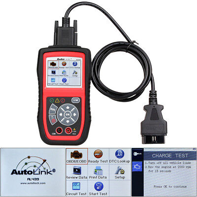 OBD2 Code Reader Electrical Test Scanner Diagnostic Tool Autel AutoLink AL439
