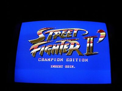 Capcom Street Fighter II Champion Edition Red Wave Jamma game board arcade CPS 1