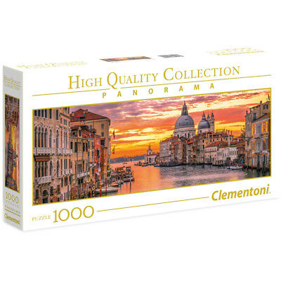Clementoni The Grand Canal Venice High Quality Panorama 1000 Piece Jigsaw Puzzle