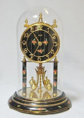 Large Kundo 400 Day Anniversary torsion clock - glass dome