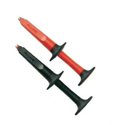 Fluke SureGrip AC220 Black and Red Crocodile / Alligator Clip Set