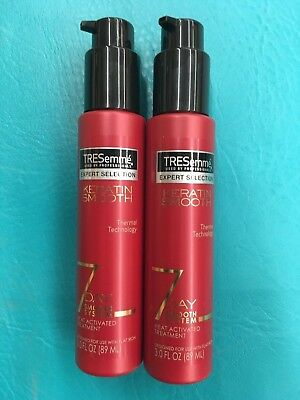 TRESemme Expert Selection Heat Activated Treatment, 7 Day Keratin Smooth 3 oz