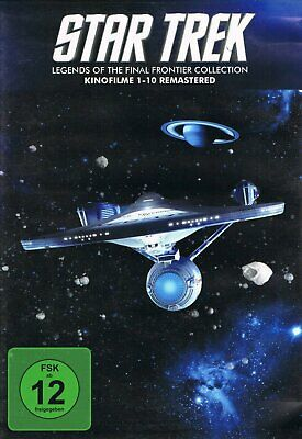 Star Trek - Kinofilme 1+2+3+4+5+6+7+8+9+10 Remastered # 10-DVD-BOX-NEU