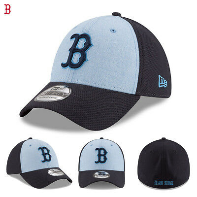 new product 448f3 26536 Boston Red Sox New Era 2018 Father s Day Flex Hat Cap 39THIRTY Gift Present  NWT