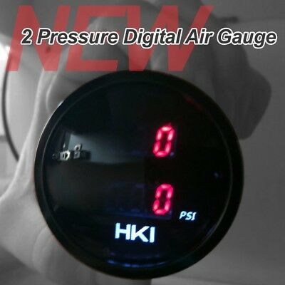 NEW 2 Pressure Digital Air Gauge for Air Suspension BEST PRICE
