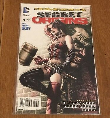 Secret Origins #4 Harley Quinn NM New 52 DC
