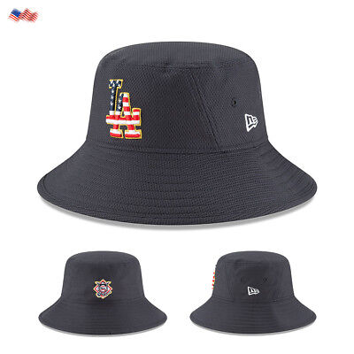 the best attitude 12d9a 01289 ... sweden los angeles dodgers new era 2018 4th of july bucket hat usa  pride stars stripes