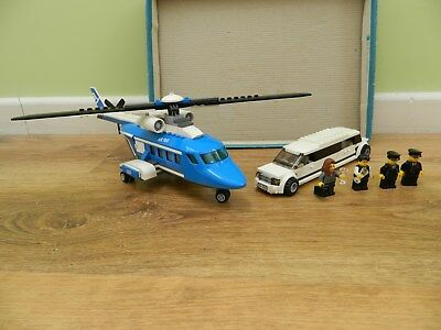 Lego City Helicopter And Limousine 3222 Complete Set With