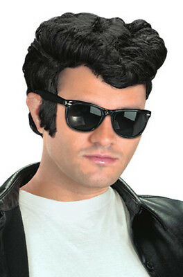 Brand New 1950s Greaser Danny Grease Costume Wig