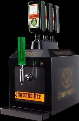 Jägermeister 3 Bottle Tap Machine BAR MODEL TAP MACHINE CHILLED SHOT DISPENSER